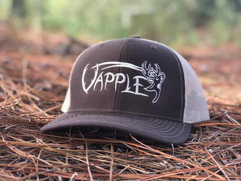 VAPPLE HAT | BROWN/TAN