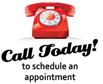 Call to schedule an appointment!