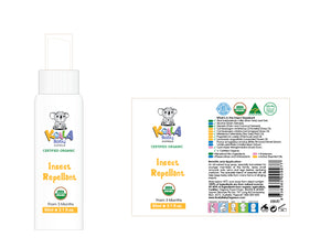 Insect Repellent (Certified Organic)
