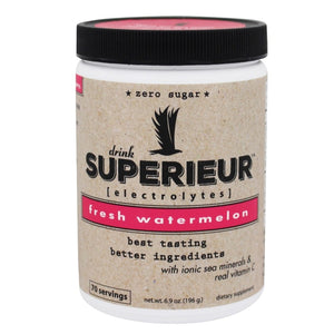 Superieur Electrolytes - Fresh Watermelon Flavor (Canister)