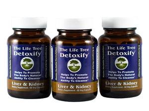 Detoxify - Liver & Kidney Cleanse - Comprehensive 90 Day Program