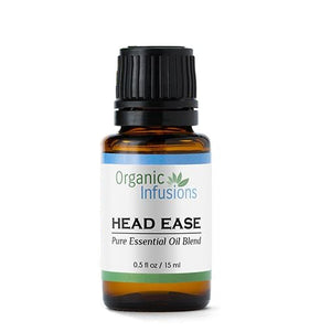 Head Ease - Therapeutic Grade - Blended Oil External Treatment