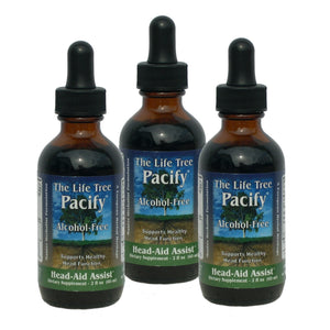 Pacify - Head Aid Assist & Support - Professional Strength (3-Pack)