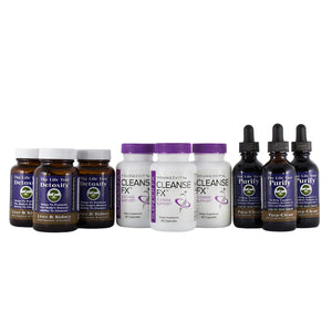 Total Body Cleanse Program - 90 Day Collection (Tincture) +FREE SHIPPING
