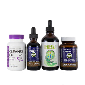 Total Body Detox & Cleanse Program - 30 Day Collection (Tincture)