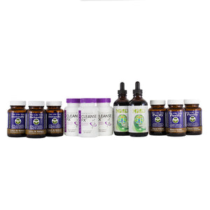 Total Body Detox & Cleanse Program - 90 Day Collection (Capsule)
