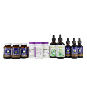 Total Body Detox & Cleanse Program - 90 Day Collection (Tincture) +FREE SHIPPING