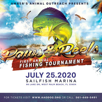 Paws and Reels First Annual Fishing Tournament