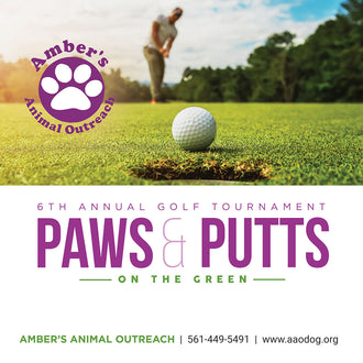 Amber's Paws & Putts Annual Golf Tournament