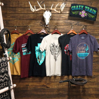NEW PRODUCT ALERT - Now Carrying Crazy Train Clothing