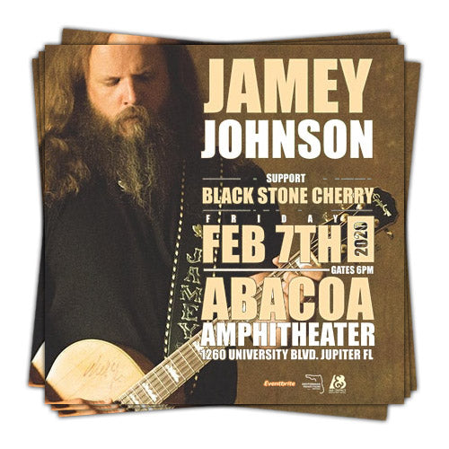 Jamey Johnson with Black Stone Cherry live in Abacoa, Jupiter