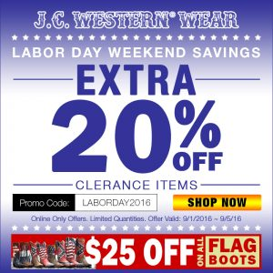 Online Exclusive- Labor Day Sale