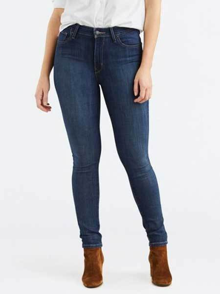 Levi's Womens 721 Skinny Jeans Under $50