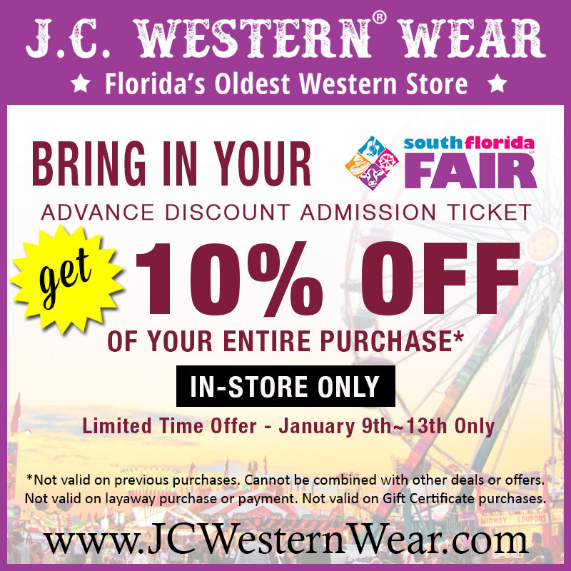 Receive 10% Off 5 Days Only with Early Admission Fair Ticket Purchase