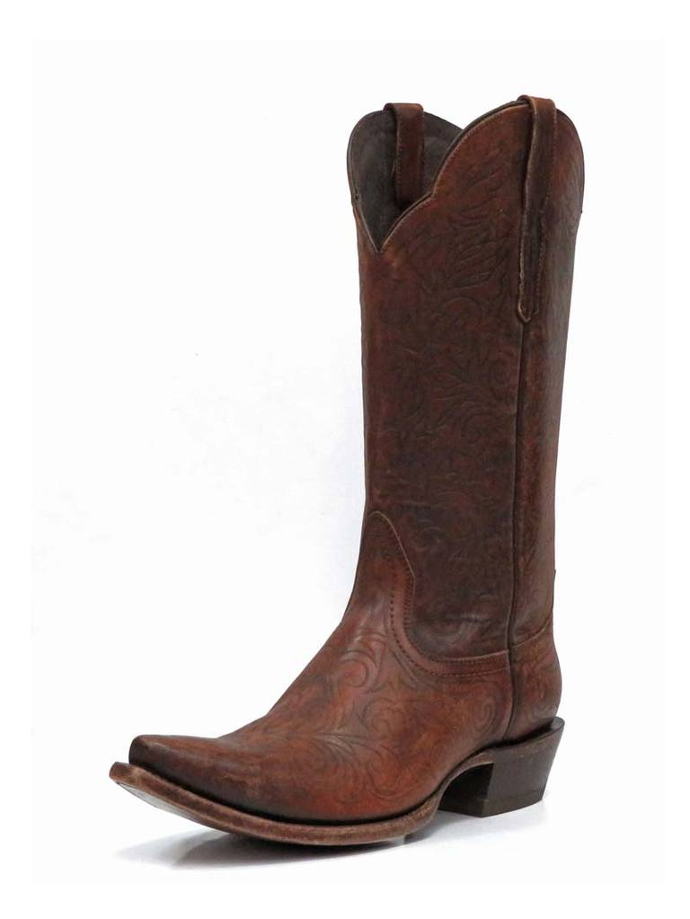Buy Ariat Womens Sterling Snip Toe Cognac Boots - On Sale