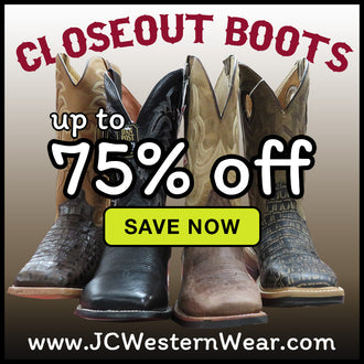 CLOSETOUT DEALS NOW - Save Big on Men's Boots