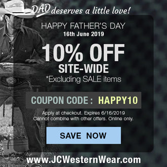 Father's Day - We're Giving You 10% Off Just for Dad!
