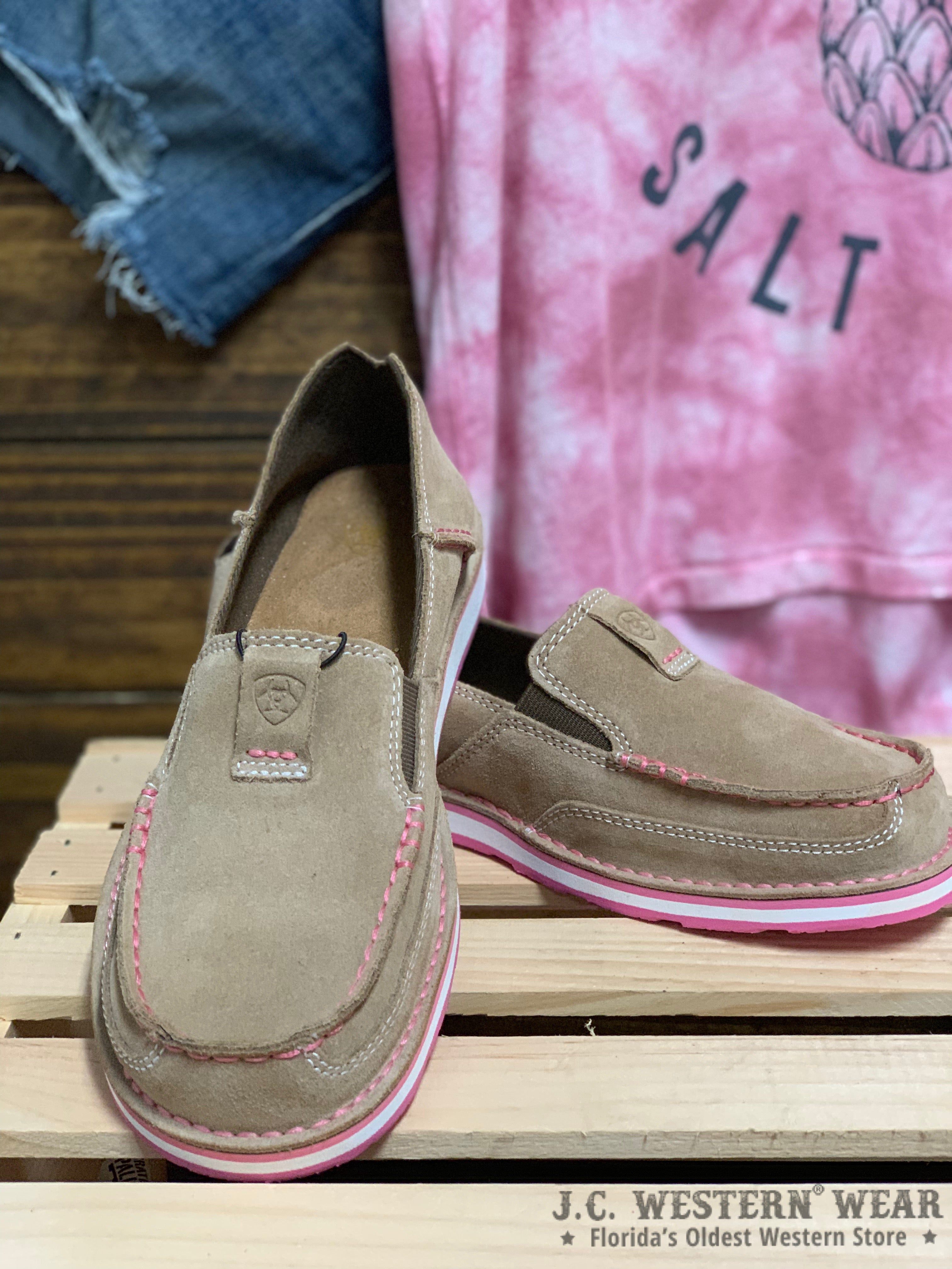 Cruise Into Spring With these Ariat Slip-On Sneakers