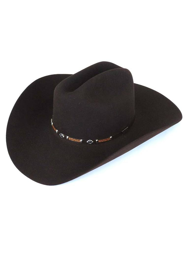 "George Strait Collection By Resistol ""Black Rock"" Felt Hat"