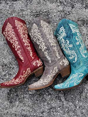 Corral Boots at JC Western