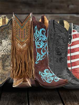 Women's Western Boots & Shoes