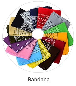 Western Bandana for Bikers