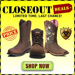 Ariat Closeout Sale