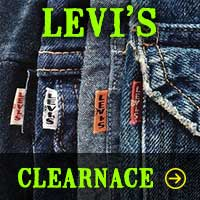 Levi's Jean Clearance