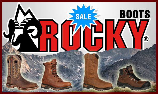 Rocky Boots On Sale