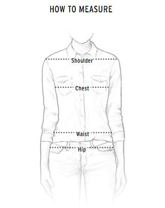 Wrangler Women's Top Size Chart How To