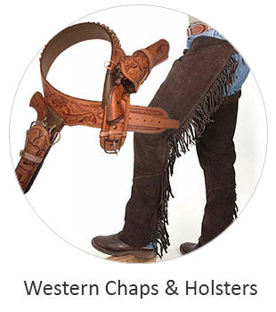 Western Rodeo Chaps and Holsters