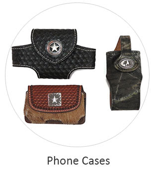Western Leather Smart Phone cases