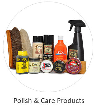 Leather Polish and Boot Care Products