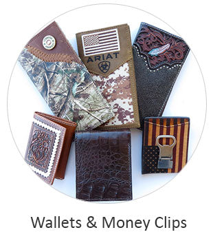 Men's Western Wallets and money Clips