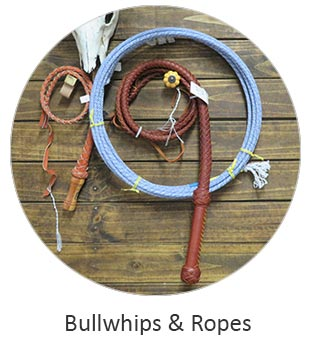 Western Bullwhips and Cowboy Ropes