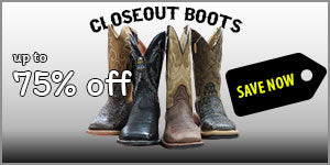 Clearance Boots Cheap Boots Discount Closeout Boots Cowboy Boots