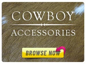 Cowboy accessories at JC Western Wear