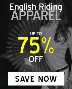 English Riding Apparel on Sale up to 75% Off