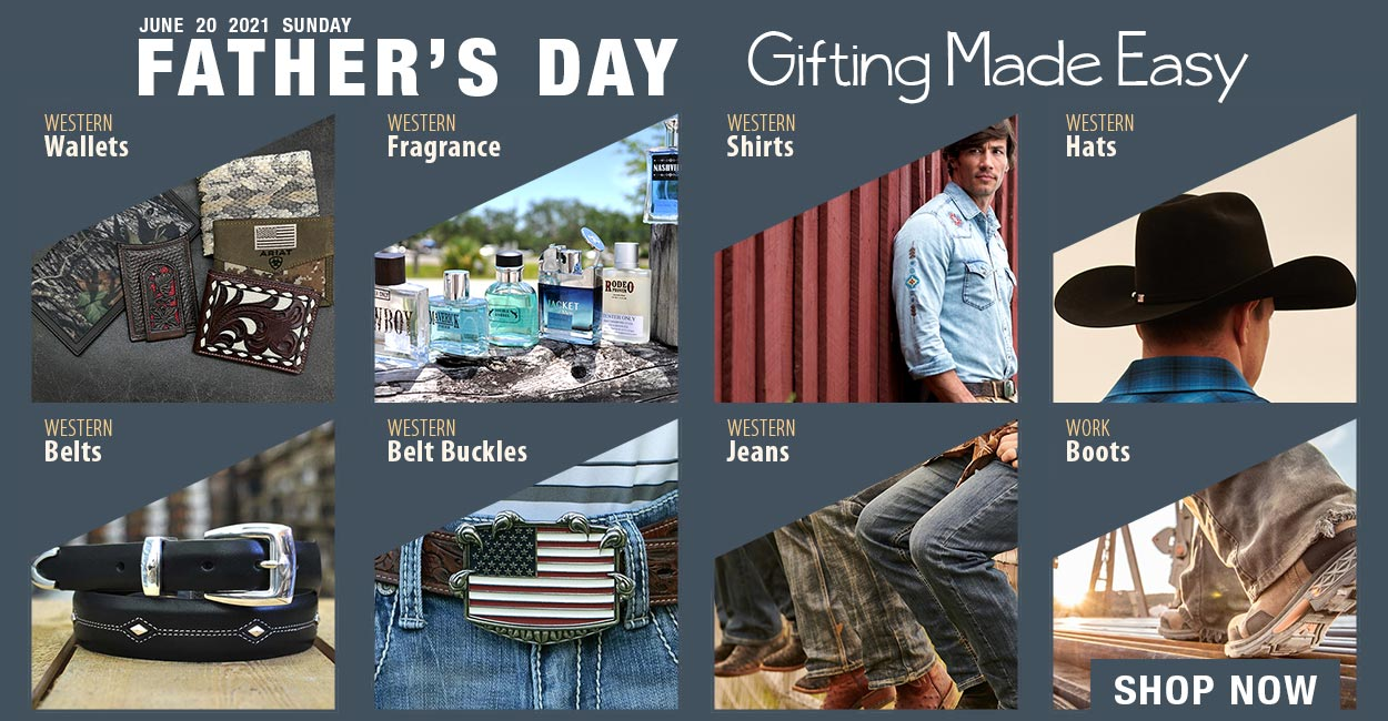 Western Gifts for a Father