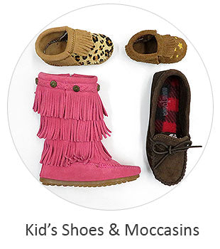 Kid's Shoes and Moc