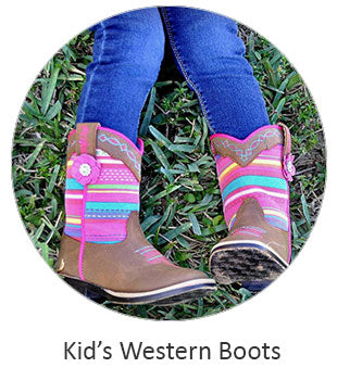 Kid's Cowboy Boots and Cowgirl Boots