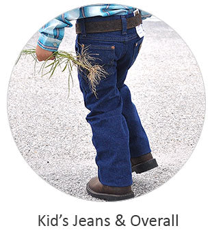 Kid's Jean Pants and Overall