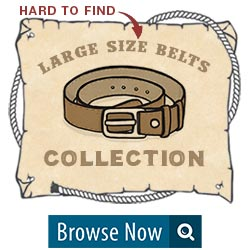Hard to Find Large Size Belts