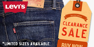 Levi's Special Clearance Sale at JC Western Wear