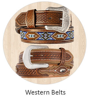 Men's Western Belts and Work Belts