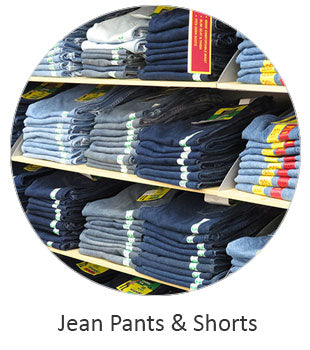 Men's Jean Pants and Shorts