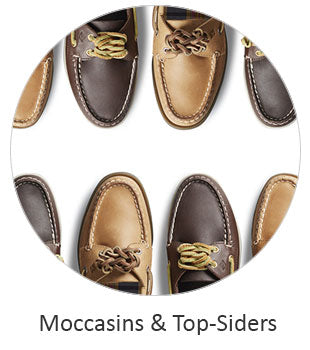 Men's Moccasins and Top Siders