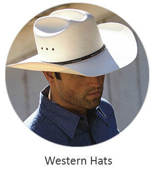 Men's Western hats and ballcaps
