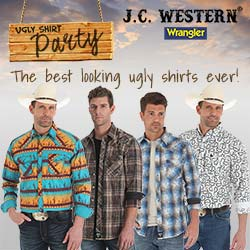 Wrangler Ugly Shirts Party