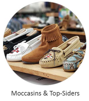 Women's Moccasins and Top Siders